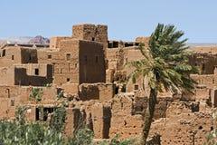 kasbah摩洛哥 免版税库存图片