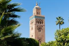 Kasbah清真寺在马拉喀什 马拉喀什,马拉喀什萨菲,摩洛哥 库存图片