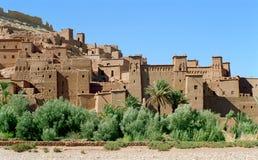 kasbah老摩洛哥 库存图片