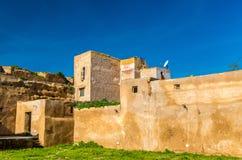 Kasbah西迪・穆罕默德本Abdallah在Azemmour,摩洛哥 免版税图库摄影