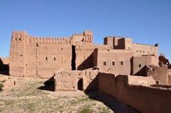 kasbah Μαρόκο taourirt Στοκ Εικόνα