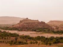 Kasbah вершины холма Стоковые Фото