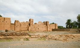 kasbah Марокко Стоковые Фотографии RF