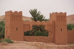 Kasbah Foto de Stock Royalty Free