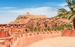 Kasbah Ait Ben Haddou στα βουνά ατλάντων του Μαρόκου Παγκόσμια κληρονομιά της ΟΥΝΕΣΚΟ στοκ φωτογραφίες με δικαίωμα ελεύθερης χρήσης
