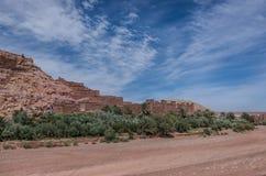 Kasbah Ait Ben Haddou στα βουνά ατλάντων του Μαρόκου Medieva Στοκ φωτογραφίες με δικαίωμα ελεύθερης χρήσης