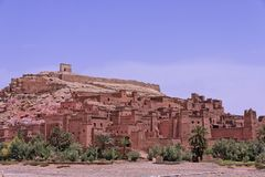 Kasbah of Ait Ben Haddou Stock Photo