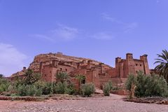 Kasbah of Ait Ben Haddou Stock Images