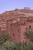 Kasbah of Ait Ben Haddou Royalty Free Stock Photography