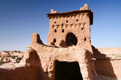 The Kasbah Ait ben haddou Royalty Free Stock Photos