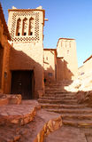 The Kasbah Ait ben haddou. In Morocco stock image