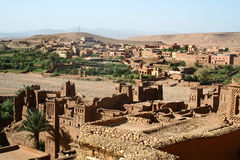 The Kasbah Ait ben haddou Stock Image