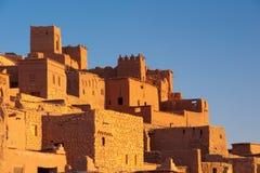 Kasbah Ait ben Haddou. Ancient fotriffied structure - Kasbah Ait ben haddou Royalty Free Stock Images