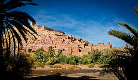 Kasbah of Ait Ben Haddou Stock Photos