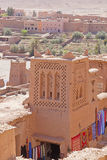 Kasbah in Ait Ben Haddou Royalty Free Stock Photography