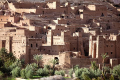 Kasbah Ait Ben Haddou. World heritage site ksar and kasbah Ait Ben Haddou, Morocco Royalty Free Stock Photos