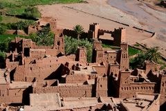 Kasbah  ait ben haddou Stock Photo