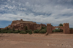 Kasbah Ait Ben Haddou in the Atlas Mountains of Morocco. Medieva Royalty Free Stock Photography
