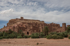 Kasbah Ait Ben Haddou in the Atlas Mountains of Morocco. Medieva Royalty Free Stock Photo