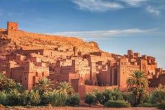 Kasbah Ait Ben Haddou in den Atlas-Bergen von Marokko UNESCO-Welterbe lizenzfreie stockfotos