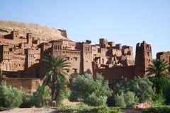 Kasbah AIT Ben haddou in Marokko Lizenzfreie Stockfotos