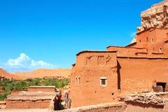 Kasbah Ait Ben Haddou, montagnes d'atlas, Maroc Photos libres de droits