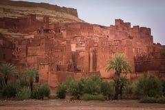Kasbah ait ben haddou morocco Fotografering för Bildbyråer