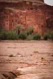 Kasbah ait ben haddou morocco Royaltyfri Fotografi