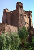 Kasbah Ait ben haddou in Morocco Royalty Free Stock Photography