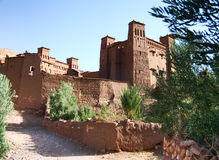 Kasbah Ait ben haddou in Morocco Stock Images
