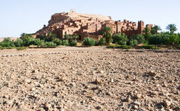Kasbah Ait ben haddou in Morocco Royalty Free Stock Images