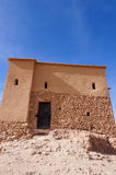 The Kasbah Ait Ben Haddou. In Morocco royalty free stock photo