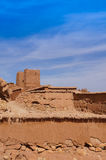 The Kasbah Ait Ben Haddou,Morocco. The Kasbah Ait Ben Haddou in Morocco royalty free stock photos