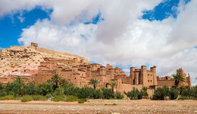 The Kasbah Ait Ben Haddou in Morocco. The Berber village Kasbah Ait Ben Haddou in Ouarzazate, Morocco Stock Images