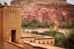 Kasbah Ait Ben Haddou. Morocco. Stock Image