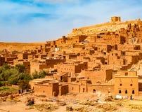 Kasbah Ait Ben Haddou near Ouarzazate Morocco. UNESCO World Heritage Site royalty free stock image