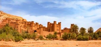 Kasbah Ait Ben Haddou near Ouarzazate Morocco. UNESCO World Heritage Site stock image