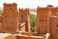 Kasbah Ait Ben Haddou near Ouarzazate Morocco. UNESCO World Heritage Site royalty free stock photos
