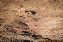 Kasbah Ait Benhaddou в горах атласа Марокко Стоковая Фотография
