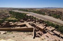 Kasbah AIT Benhaddou image stock