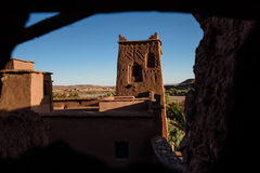 Kasbah Ait Benhaddou in the Atlas Mountains of Morocco Stock Image