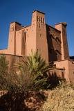 Kasbah Ait Benhaddou in de Atlasbergen van Marokko Stock Afbeelding