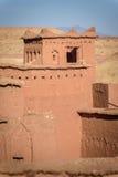 Kasbah Ait Benhaddou in de Atlasbergen van Marokko Royalty-vrije Stock Foto
