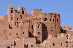 Kasbah AIT Benhaddou, Marokko Stockfotos