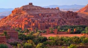 Kasbah AIT Benhaddou, Marrocos Foto de Stock Royalty Free