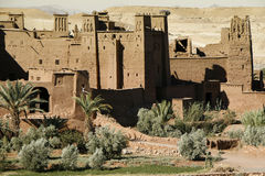 The Kasbah of Ait Benhaddou, Morocco Royalty Free Stock Photos