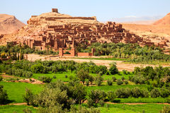 Kasbah of ait benhaddou Royalty Free Stock Image