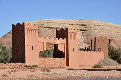 Kasbah of Ait Benhaddou, Morocco Royalty Free Stock Photo