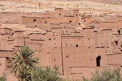 Kasbah of Ait Benhaddou, Morocco Royalty Free Stock Images