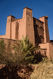 Kasbah Ait Benhaddou nas montanhas de atlas de Marrocos Imagem de Stock